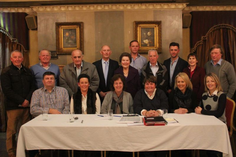 Castlewellan Show AGM - The Team For 50th Anniversary in 2017