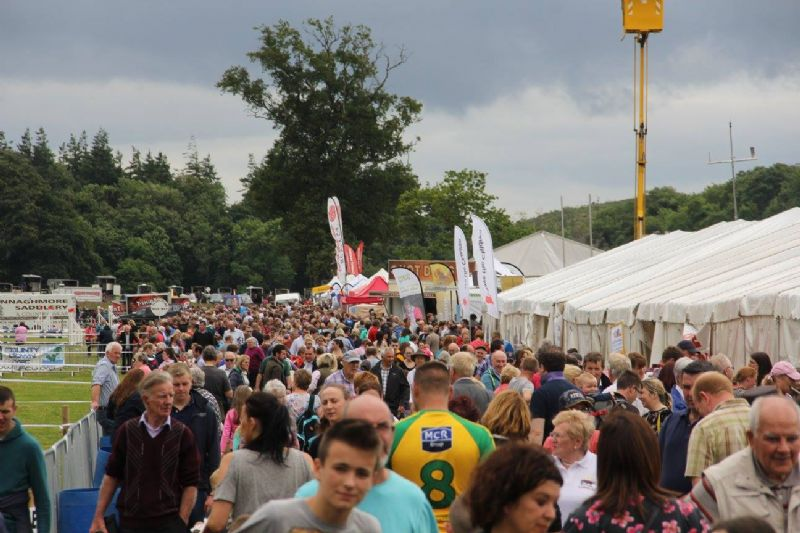 Crowds Surge To Celebrate Castlewellan Agricultural Show's 50th Anniversary